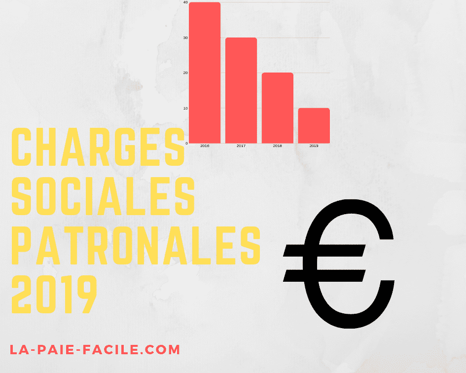 charges sociales patronales 2019