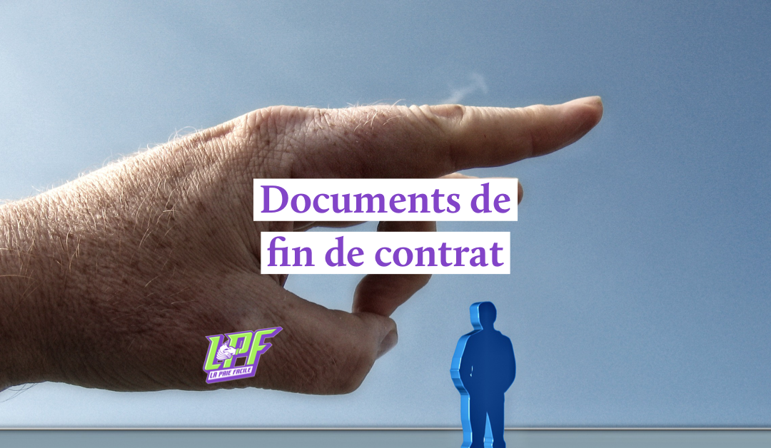 documents de fin de contrat